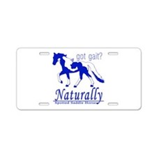 Spotted Saddle Horse Got Gait Aluminum License Pla
