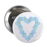"Forget Me Not 2.25"" Button (10 pack)"