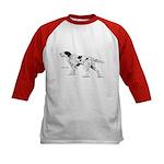 English Setter Dog (Front) Kids Baseball Jersey