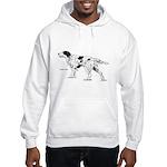 English Setter Dog (Front) Hooded Sweatshirt