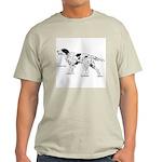 English Setter Dog (Front) Ash Grey T-Shirt