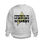 Property of Starfleet Academy Kids Sweatshirt