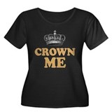 Crown Me Royal British Women's Plus Size Scoop Nec