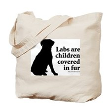 Lab are Fur Children Tote Bag