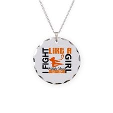 Fight Like A Girl Multiple Sclerosis Necklace
