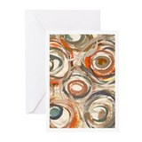 Circles Greeting Cards (Pk of 10)