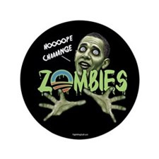 "ZOMBIES 3.5"" Button (10 pack)"