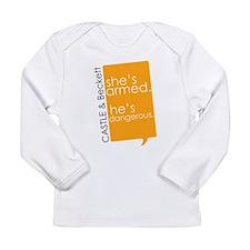 Castle Long Sleeve Infant T-Shirt