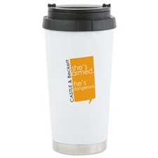 Castle Stainless Steel Travel Mug