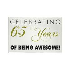 Celebrating 65 Years Rectangle Magnet