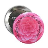 Healing is a fine art 2.25&quot; Button (10 pack)