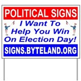 Signs.Byteland.Org Yard Sign
