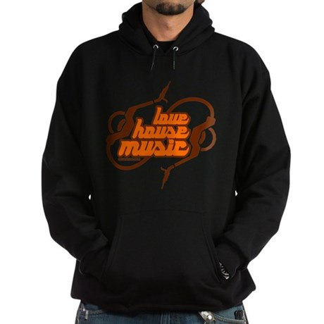 Love House Music Hoodie (dark)