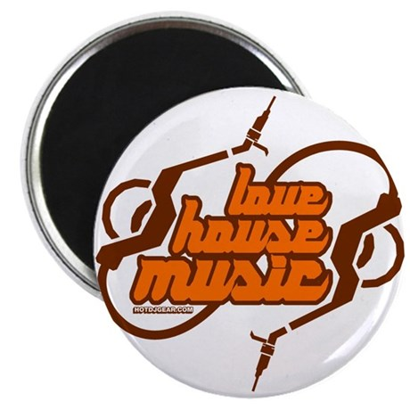 Love House Music Magnet
