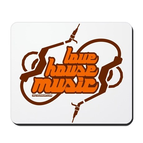 Love House Music Mousepad