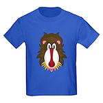 Cute Funky Baboon Kids Dark T-Shirt