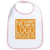No Big Logos Bib
