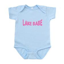 Lake Babe for Girls Who Love Infant Bodysuit