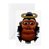Ape King Greeting Cards (Pk of 10)