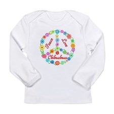 Peace Love Chihuahuas Long Sleeve Infant T-Shirt