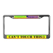 Cute Mens shorts License Plate Frame