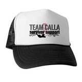 TEAM CALLA Survivor Support Custom Trucker Hat