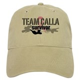 TEAM CALLA Survivor Custom Baseball Cap