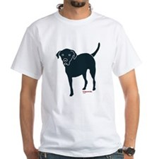 Front Leg Tripawd Black Lab Shirt