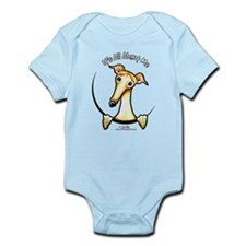 Fawn Greyhound IAAM Infant Bodysuit