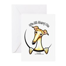 Fawn Greyhound IAAM Greeting Cards (Pk of 10)