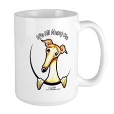 Fawn Greyhound IAAM Mug