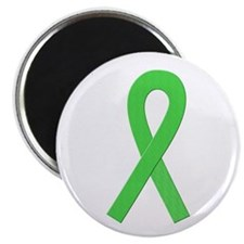 "Lime Ribbon 2.25"" Magnet (100 pack)"