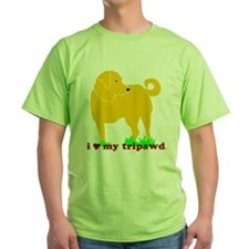 Golden Tripawd Love T-Shirt