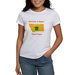 Montana is Bigger than France Women's T-Shirt