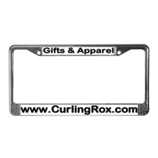 CurlingRox.com2 License Plate Frame