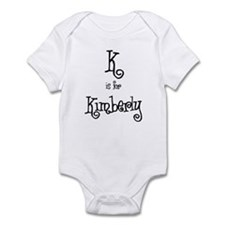 K Is For Kimberly Infant Creeper