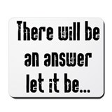 There will be an Answer Mousepad