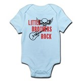 Little Brothers Rock Onesie