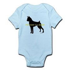 My Sister is a Boxer Infant Bodysuit