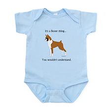 It's a Boxer Thing... Infant Bodysuit