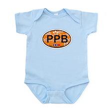 Point Pleasant Beach NJ - Oval Design Infant Bodys