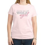 Team Jacob Wolf Girl T-Shirt
