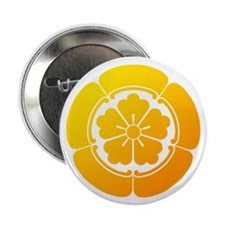 "Oda Nobunaga 2.25"" Button (100 pack)"