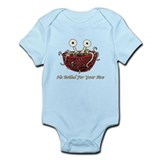 He Boiled For Your Sins Infant Bodysuit
