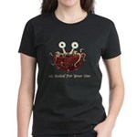 He Boiled For Your Sins Women's Dark T-Shirt