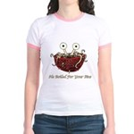 He Boiled For Your Sins Jr. Ringer T-Shirt