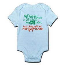 Meat For Lunch Infant Bodysuit
