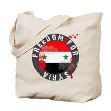 Freedom for Syria bloody Tote Bag