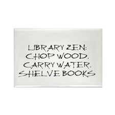 Library Zen Rectangle Magnet (10 pack)