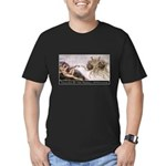 Touched By His Noodly Appenda Men's Fitted T-Shirt